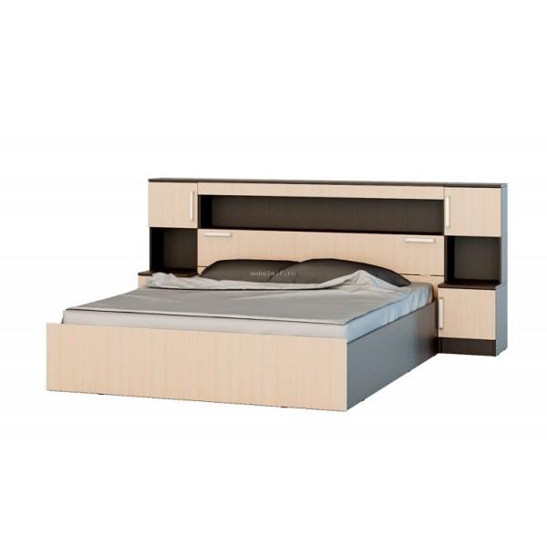 Кровать с надстройкой 1.6 Бася МИФ