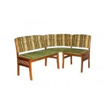 Кухонный угловой диван Этюд с решеткой