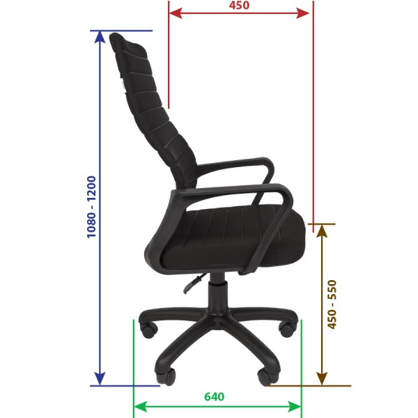 Кресло руководителя РК-165