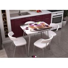 Кухонный стол с фотопечатью Стендмебель