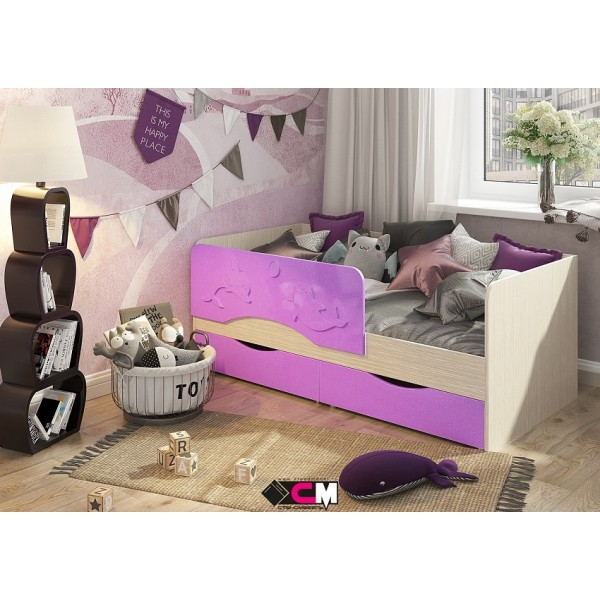 Кровать детская Алиса Стендмебель
