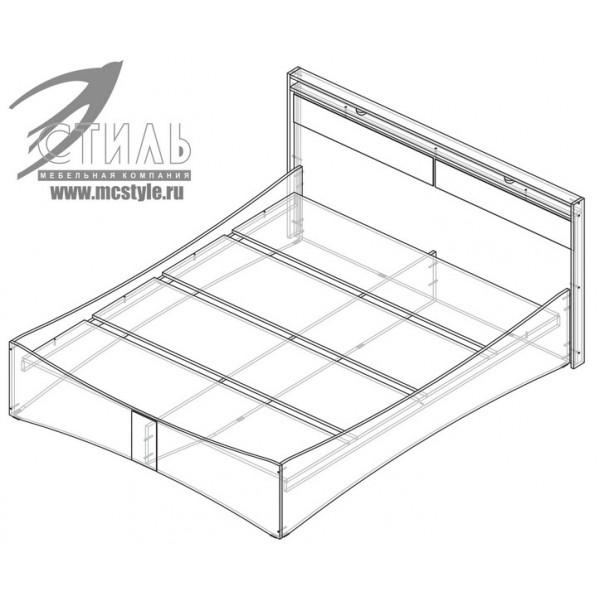 Кровать Вега КР 01