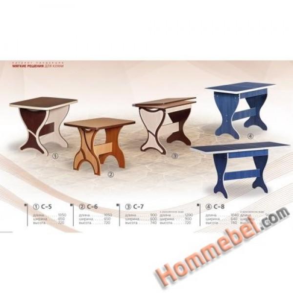 Столы обеденные С-5, С-6, С-7