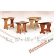 Столы обеденные C-1,С-2, С-3, С-4