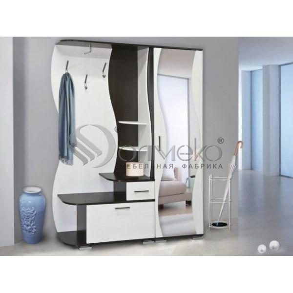 Визит-М10+шкаф для одежды Визит-М07 Олмеко